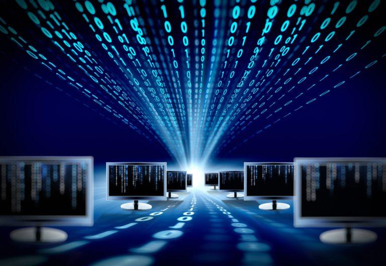 monitors on binary code floor